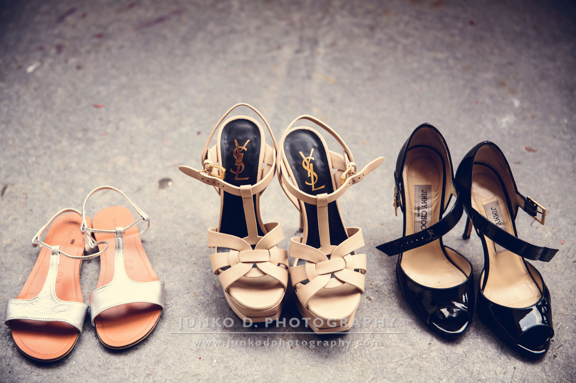 3 designer shoes