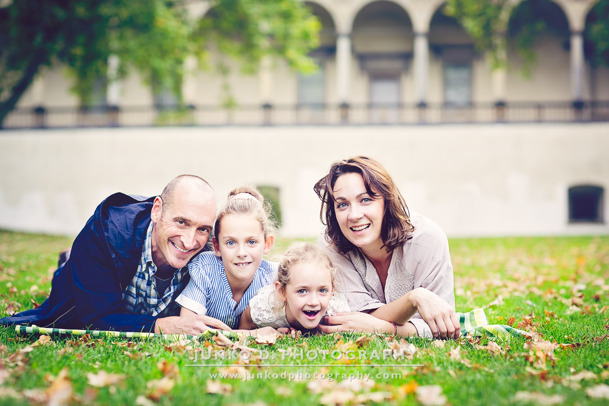 happy family session